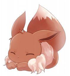 Tags: Anime, Fanart, Pokémon, Eevee, Pixiv Id 6378013