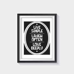 Motivation quote poster quote print quote wall art by INK88