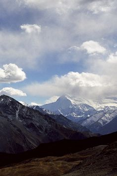 From afar • Dhaulagiri Himal from the Mola Bhanjyang pass, 4,950 m (16,240 ft), Upper Dolpo, Nepal