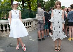 Meet Russia's Top Street Style Stars. Vika Gazinskaya. luckymag.com. I'm OBSESSED with her designs!!!