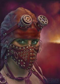 Steampunk illustration by Chris Down