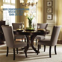 Alston Round Table Dining Room Set By Kincaid Furniture   Furniture .