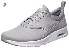 huge discount 282ed 21f47 Nike Women's Air Max Thea Premium Stealth/Pure Platinum/White 616723-009  (SIZE: 9.5) - Nike sneakers for women (*Amazon Partner-Link)