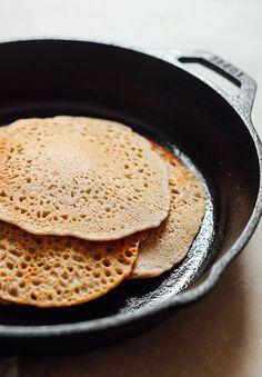 5- ingredient vegan buckwheat crepes💚🌱👈