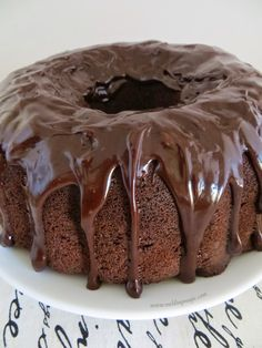 Do you have a hard time deciding between chocolate cake and fudge brownies? With this recipe, you don't have to. Chocolate cake and fudgy brownie batter are combined, then topped off with a creamy ganache. This outrageous bundt cake is a chocoholic nirvana.
