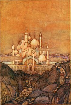 "Edmond Dulac _ ""Stories from the Arabian nights"" (1911)"