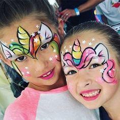 Maquillage licornes