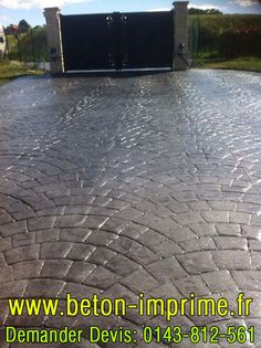 Tile Floor, Sidewalk, Flooring, Outdoor Decor, Home Decor, Gardens, House, Wallet, Bricolage