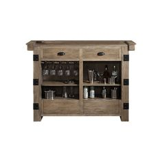 American Heritage Armono Bar with Wine Storage & Reviews | Wayfair