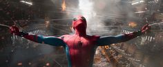 A young Peter Parker/Spider-Man (Tom Holland), who made his sensational debut in Captain America: Civil War, begins to navigate his newfound identity as the web-slinging super hero in Spider-Man: Homecoming. Infinity War, Tom Holland, Michael Keaton, Doctor Strange, Man Movies, Movie Tv, Marvel Comics, Marvel Heroes, Marvel Avengers
