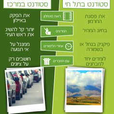 """""""You cant compare between a stunent in Telhai and a student elsewhere"""" Telhai academic collage Israel Facebook post. #advertising #creaitive #campaign #social #media"""