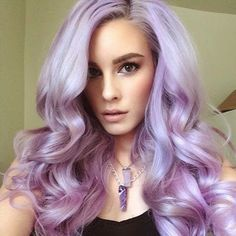 Lavender voluptuous waves
