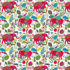 llewmejia:  Drew a bunch of baby elephants, stompin' through the jungles of India!