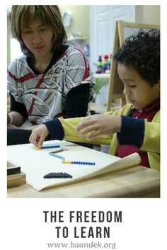 Montessori schools throughout the world are lauded for their conception of freedom. Not only in their ability to teach children the concept of freedom, but also in their capacity to allow children the freedom to learn. Once more, it is that beautiful intersection of academics emerging in a social environment, where the child is encouraged to become who they wish to be.