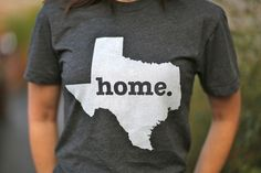 Greatest T so soft & comfy! Let people know where your home is!  only $25.00 and they donate to MS! (http://www.thehomet.com/texas-home-t/) #TheHomeT