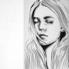 Female, Illustration, Art, Craft Art, Kunst, Illustrations