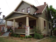 Bungalow Home Color | Colors for an Historic Virginia Bungalow - Submit an Entry: House ...don't think I can go for red