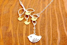 Grandma Necklace  mother necklace 4 kids mom by MegusAttic on Etsy, $39.50