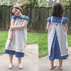 Make for Baby: 25 Free Dress Tutorials for Babies & Toddlers Source by rekaboten idea sewing Sewing Aprons, Sewing Clothes, Diy Clothes, Sewing For Kids, Baby Sewing, Baby Bonnet Pattern, Pioneer Dress, Skirt Tutorial, Cape Tutorial