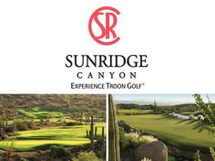 Located on the edge of Scottsdale, Arizona in Fountain Hills, Arizona, SunRidge Canyon Golf Club opened earlier this month from overseeding and has even more new enhancements... Even a brand new logo!