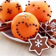 Biscotti alla cannella con profumo di arancia