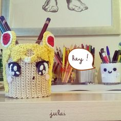 Sailor Moon Crochet cover cup and...a Marshmallow! by Tofe-lai on DeviantArt