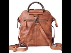 Genuine Leather Hand Bag Backpack for Women Casual Leather Backpack WF – Unihandmade
