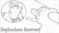 Sephodora Sketch by me.