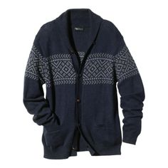 Dammit, I want this old man sweater. Lots of goodies in the new Odin for Target line.   Odin New York for Target® Men's Shawl Collar Sweater.