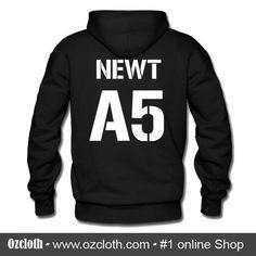 A5 Newt Hoodie Back