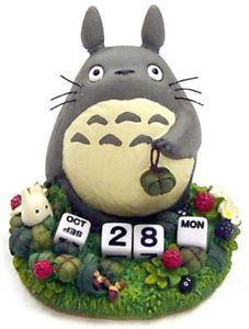 Crunchyroll - Totoro Perpetual Calendar - My Neighbor Totoro