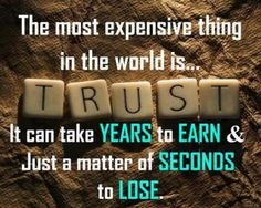 The most important thing in a relationship is trust and it is honesty which leads to it. You should be able to tell your partner everything, even if he may be initially upset. But if you find yourself lying about even the smallest thing then trust is going to fly out of the window quickly.   {http://www.PureMatrimony.com/}