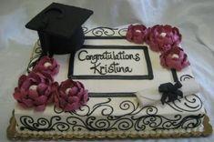 Graduation cap and Graduation sheet cake. Graduation cap and diploma. Graduation cap and diploma. College Graduation Cakes, Graduation Open Houses, Graduation Celebration, Graduation Gifts, Graduation Ideas, Graduation Cookies, Graduation 2016, Graduation Decorations, Occasion Cakes
