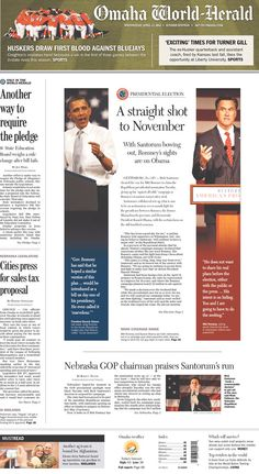 Making boring speaking photos interesting with cropping and placement. Newspaper Front Pages, Newspaper Cover, Editorial Layout, Editorial Design, Newspaper Design Layout, Front Page Design, Newspaper Advertisement, Magazine Layout Design, Print Layout