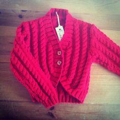 Girls Cardigan by BunnieKnitwear on Etsy