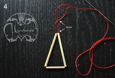 Blogg - Handante Triangles, Projects To Try, Artsy, Crafty, Manualidades, Heavens