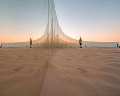 Gjøde & Partnere Arkitekter's Sculpture By The Sea Transforms Cottesloe Beach Into Floating Desert Island