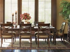Landara Pelican Hill Rectangular Dining Table | Lexington Home Brands