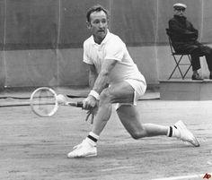 Rod Laver (Australian) - 1969 Roland Garros Men's Singles Quarterfinal