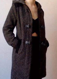 À vendre sur  vintedfrance !  manteau  hiver  gris  NafNaf  36 062a09597a8
