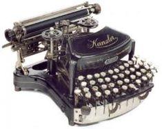 Máquina de escribir 'Kanzler Mod. 1 ter', 1903