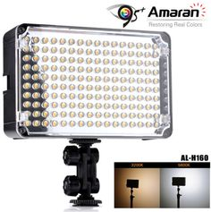 Aputure-Amaran-AL-H160-LED-CRI95 - $57aud. low cost, seem to have decent reviews, should be better than the $30 ones