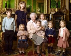 Duchess Kate: The Queen's 90th: Her Majesty Photographed with Royal Children…