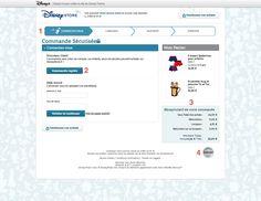 Connexion compte client DisneyStore
