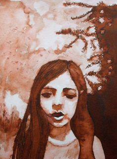 'Consti', ink drawing by Mags Phelan