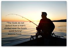 quotes about fishing and life