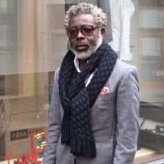 Most people don't think about fashion for older men, but even grandfathers have swag. Check out these 11 stylish men in tailored suits to bow-ties. Sharp Dressed Man, Well Dressed Men, Gentleman Mode, Gentleman Style, English Gentleman, Mode Masculine, Black Dandy, Fashion Mode, Mens Fashion