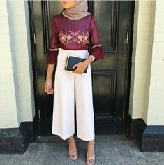 Ideas Fashion Hijab Style Casual Scarfs For 2019 Hijab Casual, Hijab Outfit, Modern Hijab Fashion, Muslim Fashion, Modest Fashion, Trendy Fashion, Fashion Trends, Modest Wear, Modest Dresses