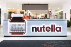 Branded Confectionery Kiosks : Nutella Pop-Up