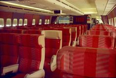 Braniff International B747-100 interior prior to delivery December 1970